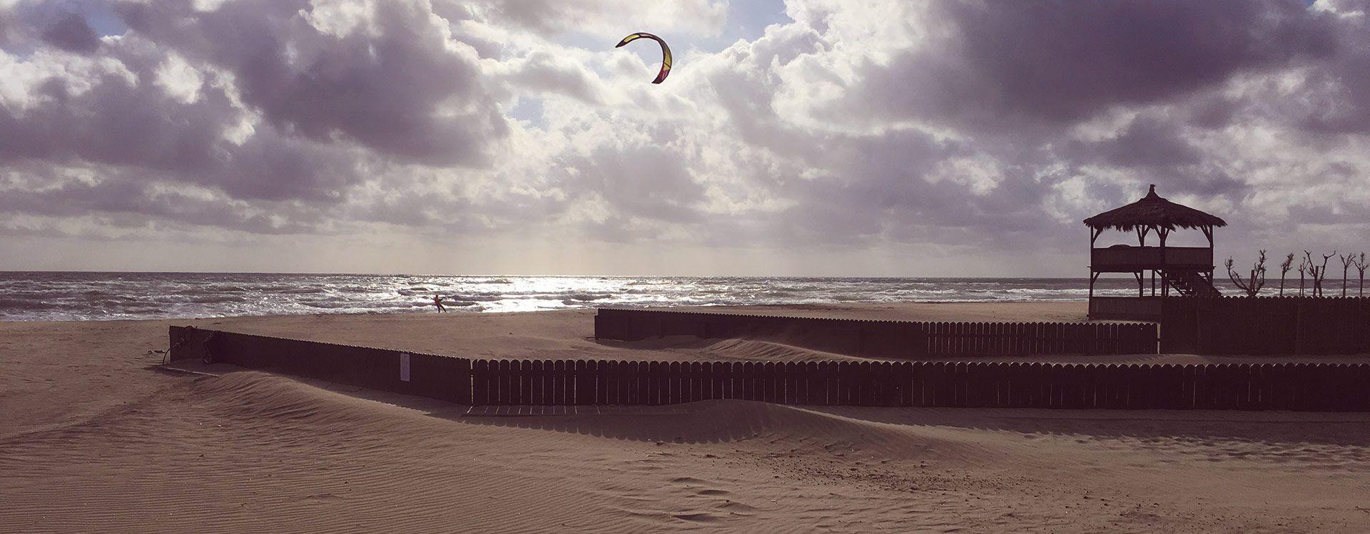 Ore 10:00 - Surf e kitesurf sulle onde di Maccarese e Passoscuro