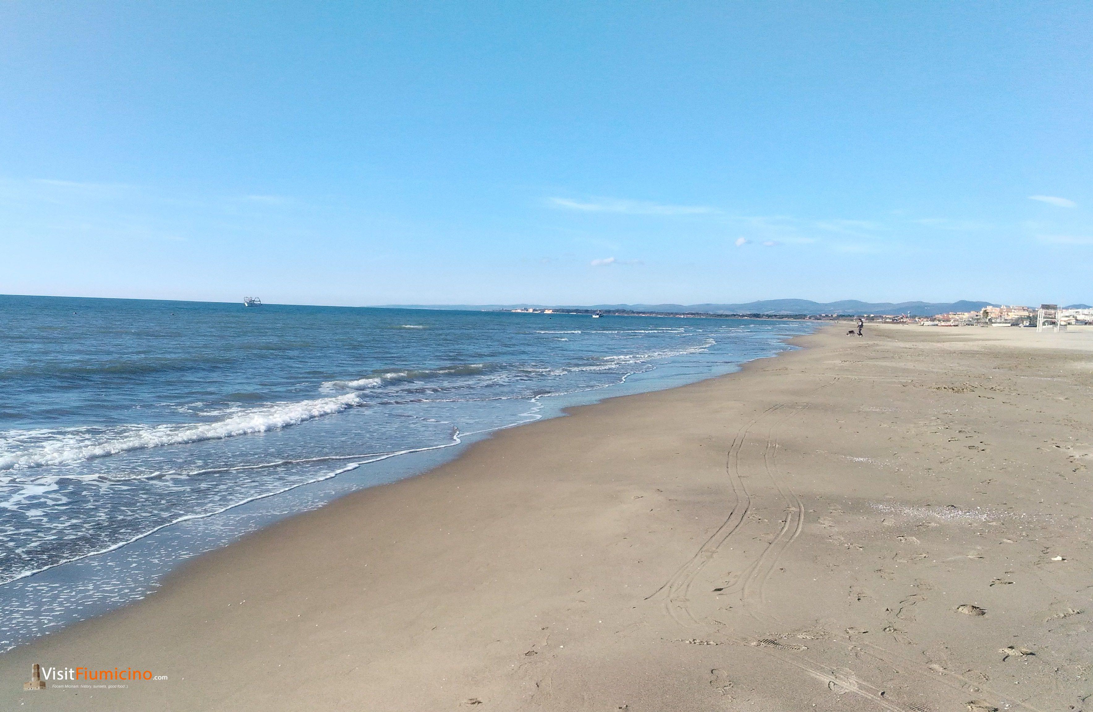 Passeggiare su splendide spiagge