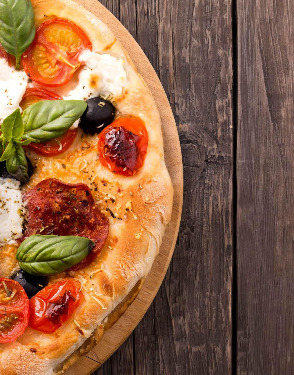 Ore 13:00 - Pizza!