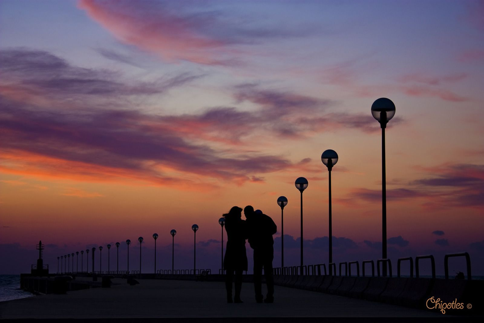 Ore 19:00 - Osserva spettacolari tramonti