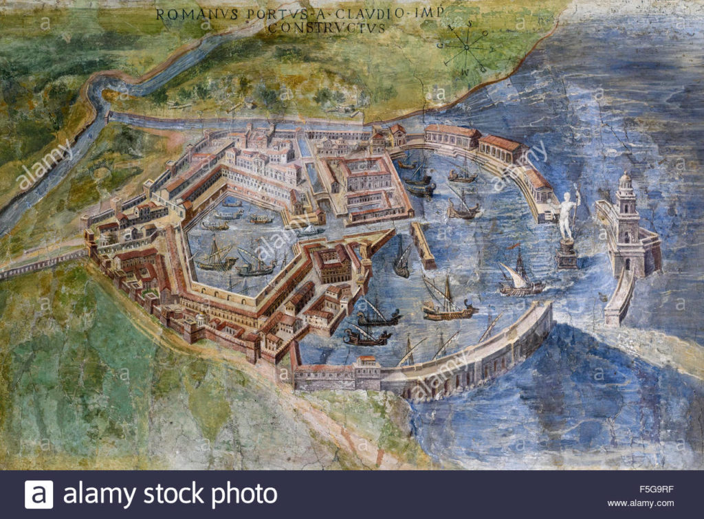 Ports of Claudius and Trajan